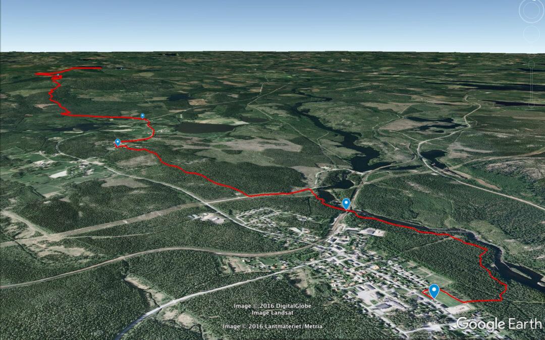 Kolla in Urskogsloppet i Google Earth