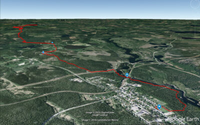 Kolla in Urskogsloppet i Google Earth
